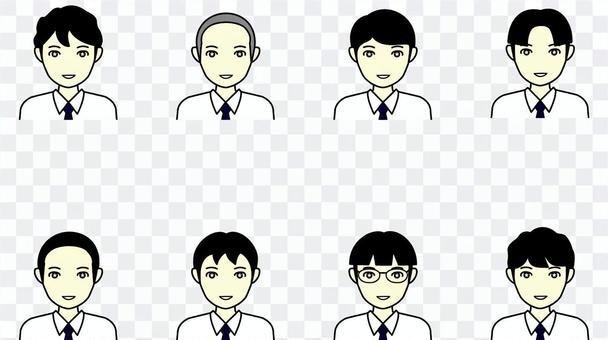 高中男生夏裝U