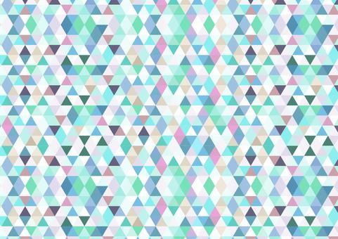 幾何学模様 多色2