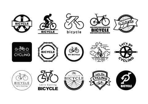 Bicycle mark (black)