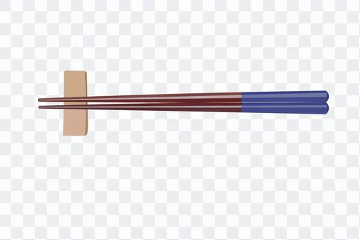 筷子和筷架