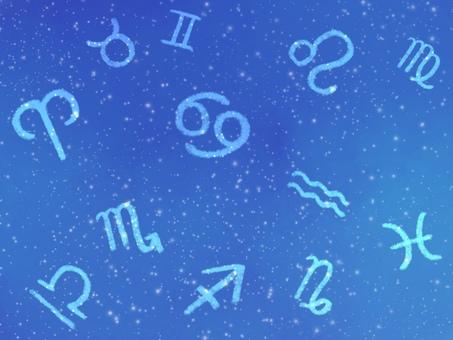 Constellation symbol background illustration 2