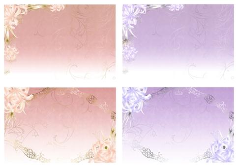 Diamond lily postcard set