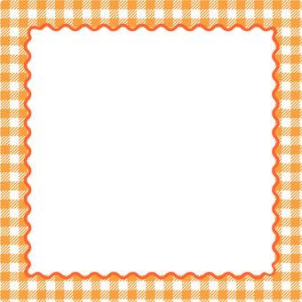 格子格子橙色少女框架