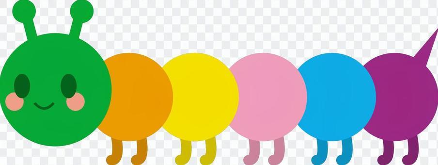 五顏六色的艾草