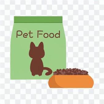 寵物食品的形象