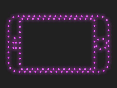 智能手機照明圖標材料粉紅色