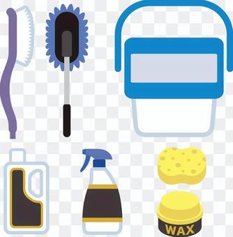 洗車設備圖標集