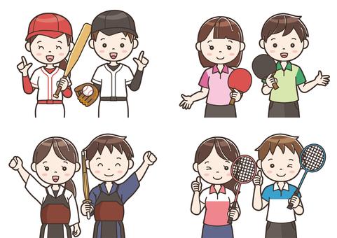 Club activity illustration 14