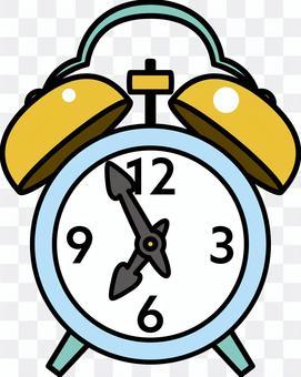簡單複古的鬧鐘