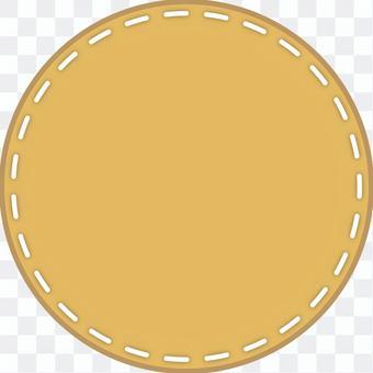 Stitched frame (round)