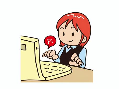 Personal computer female