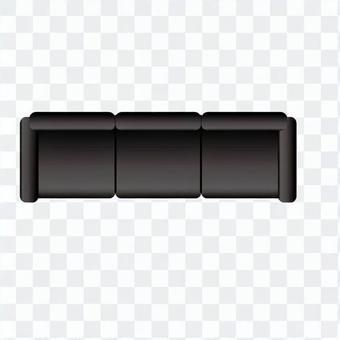 Sofa (Black) 01