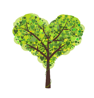 Trees and hearts