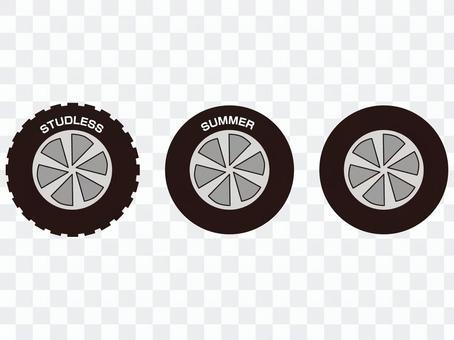 輪胎夏季無釘輪胎