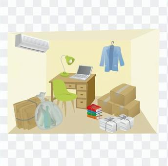 Tidying up the room 2