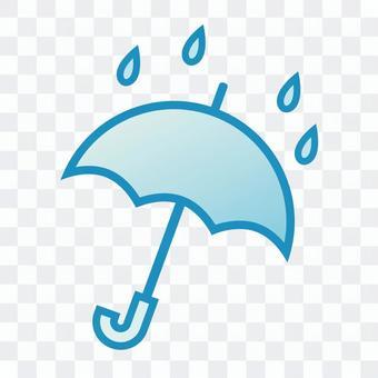 """天氣圖標""""傘"""""""