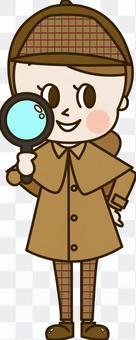 偵探小姐用放大鏡(偵探6)