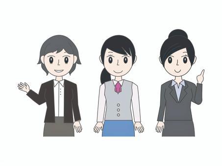 女10(有上班族的姿勢)