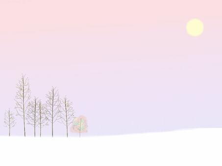 冬天的早晨