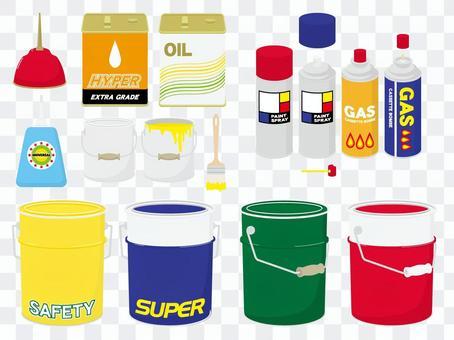 油罐 - 噴罐等