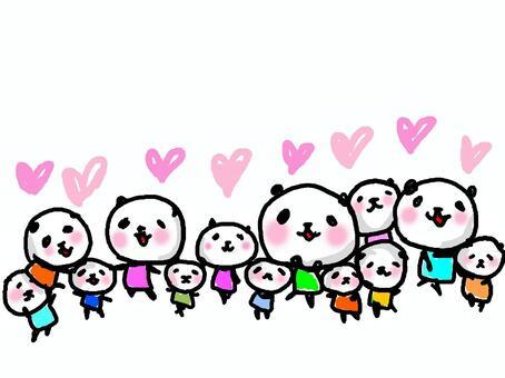 Good friend Panda