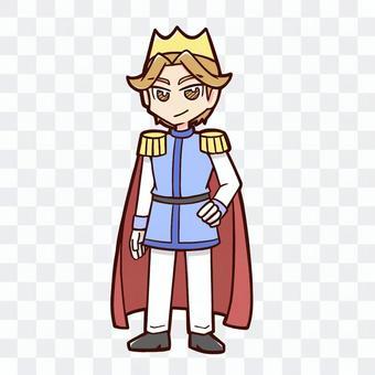赤色マントの王子様