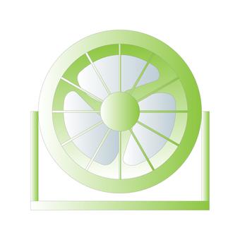 循環器(綠色)