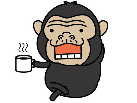 침팬지 씨 브레이크 타임