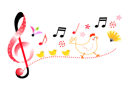 Fairy tale musical note