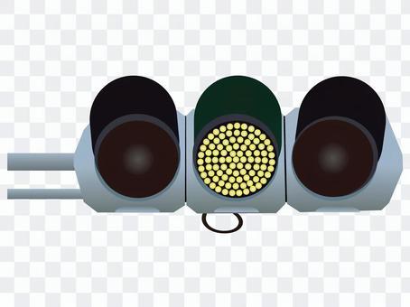 信号機(黄信号)