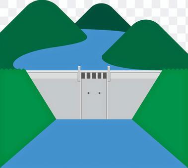 シンプルなダム