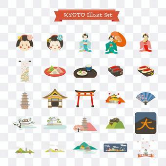 京都的插圖