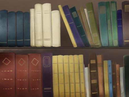 書架背景圖