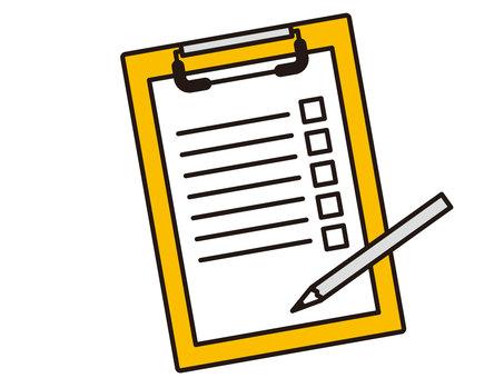 Questionnaire binder