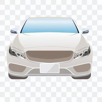 汽車前面6轎車的例證