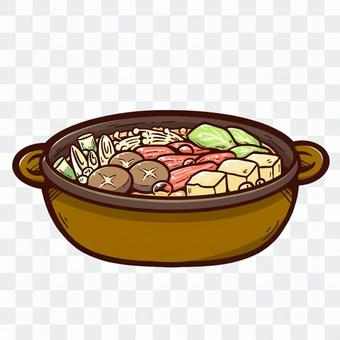 A hot pot with plenty of nutrition