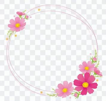 Cosmos decorative frame