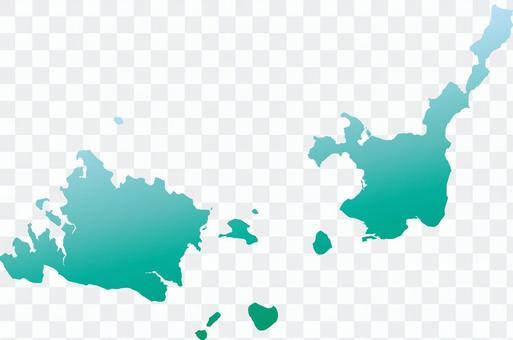 Iriomote Island _ Ishigakijima _ Green Gradé