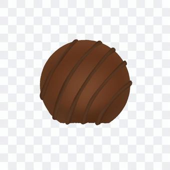 條紋球巧克力(無輪廓)
