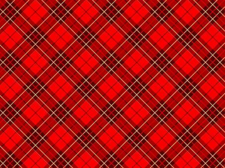 빨간색 체크 패턴