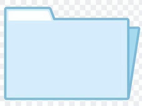 Light blue file
