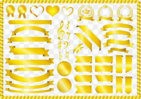 金絲帶集材料集合金框