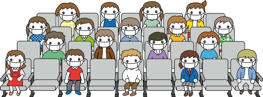 Hall-half seats