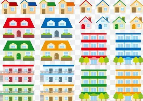 House / apartment / condominium set