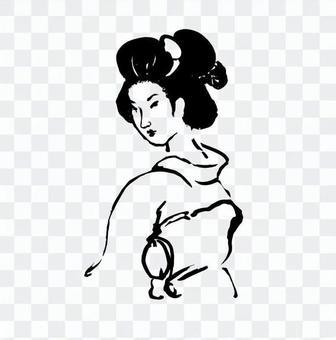 Ukiyo-eki geisha (2)