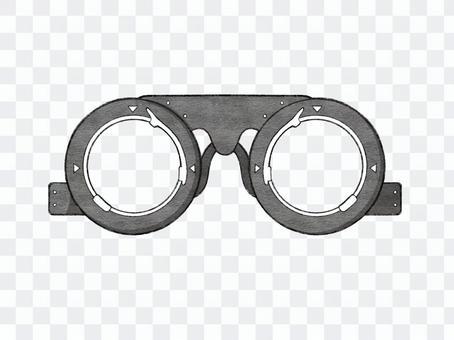 視力測試的臨時框架