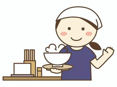 拉麵店/烏冬麵店/蕎麥店