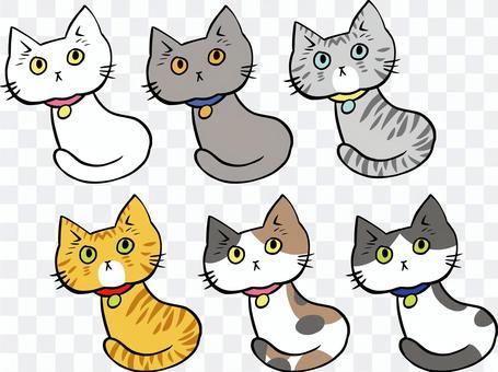 Cat pattern set part 1