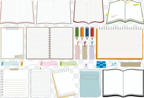 書籍,筆記本,文具