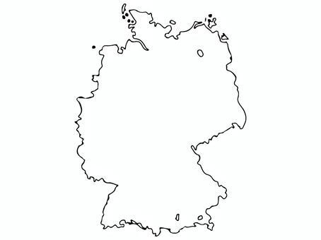 ドイツ地形